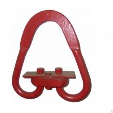Звено разъемное треугольное ГОСТ 25573-82 для стальных стропов