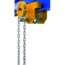 Передвижная тележка с цепным приводом